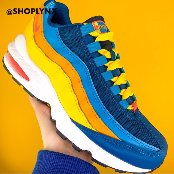 nike air max blue yellow orange Shop